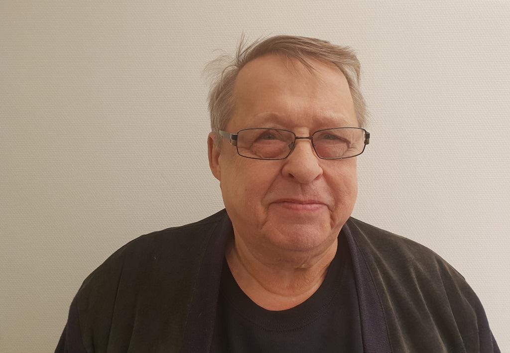 Bild på Arne Hällefors
